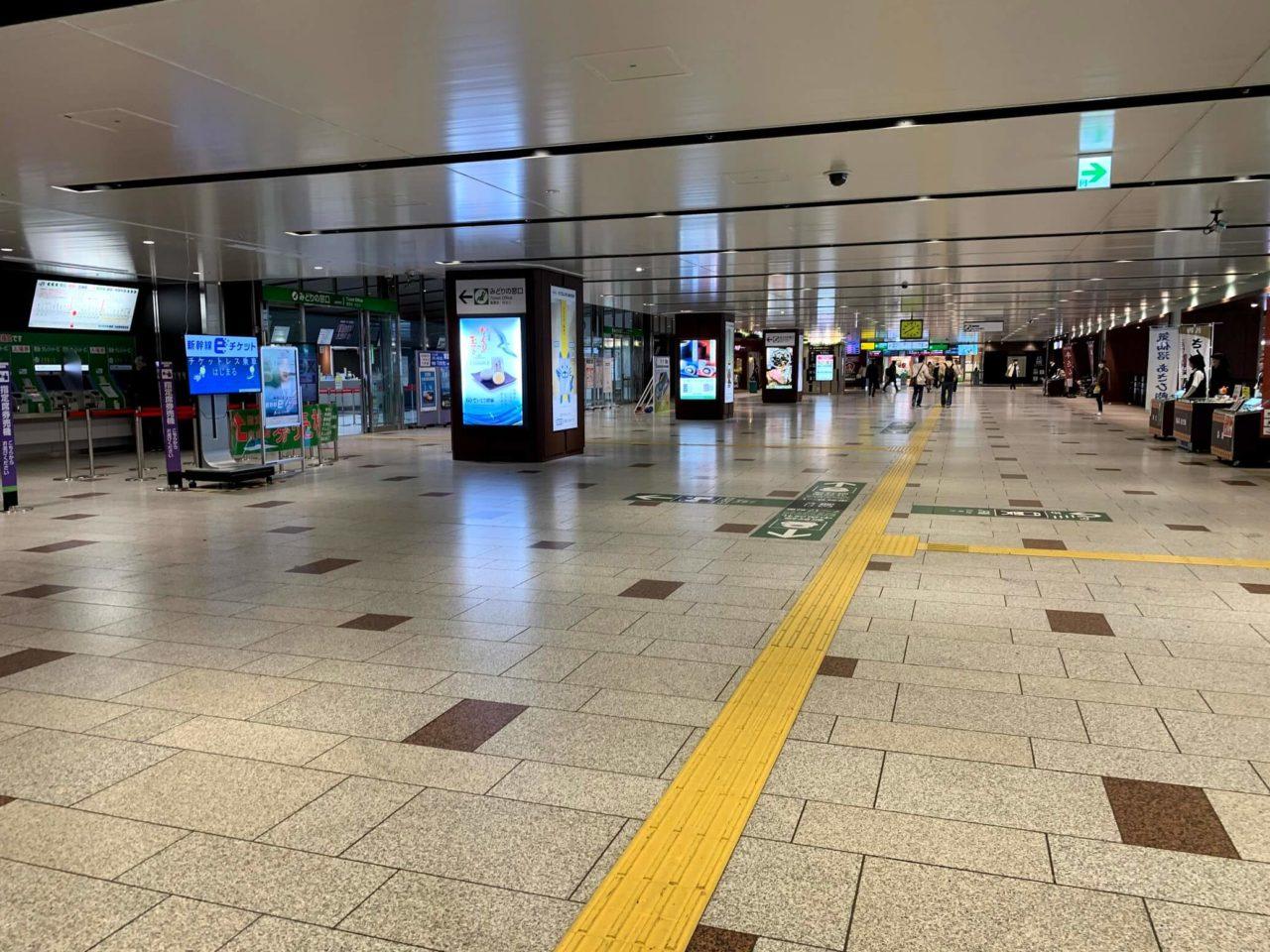 仙台駅構内
