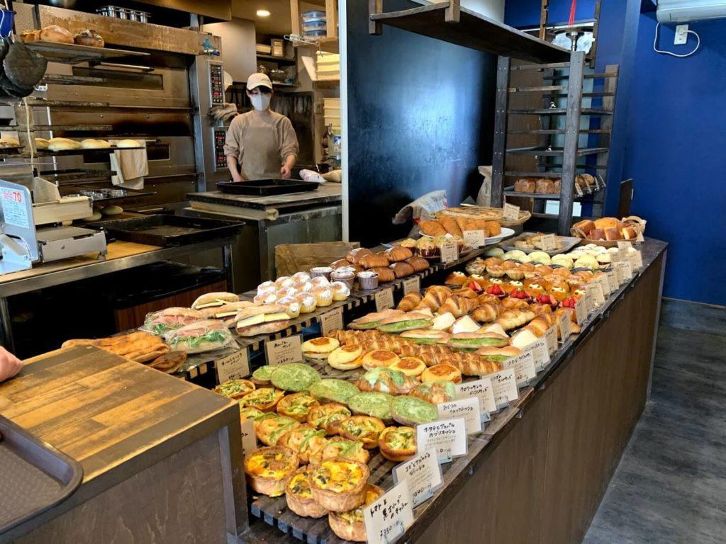 彩り豊かなパンの数々